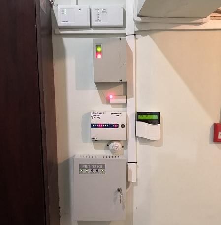 Охранно-пожарная сигнализация в кафе