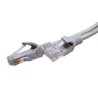 Патч-корд U/UTP Cat.5e 4x2х26AWG Cu PVC серый 2м