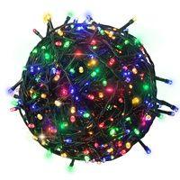 Гирлянда CADENA, 100 крупных LED, 10 метров, многоцветная, с контроллером, 18024N