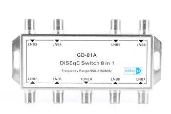Переключатель DiSEqC Euston GD-81A  8*1