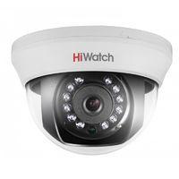 HiWatch DS-T101 (3.6 mm) 1Мп внутренняя купольная HD-TVI