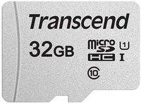 Карта памяти Transcend TS32GUSD300S microSDHC 32Gb Class10, без SD-адаптера