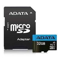 Карта памяти MICRO SDHC 32GB AUSDH32GUICL10A1-RA1 ADATA с SD адаптером