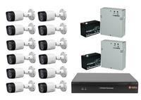 Комплект видеонаблюдения VeSta VHVR-6416 / 12 камер Dahua DH-HAC-HFW1000RP-0280B-S3