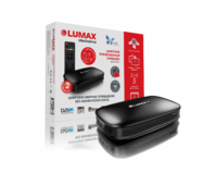 Эфирный цифровой ресивер Lumax DV-2101HD, пластиковый корпус, 1080P