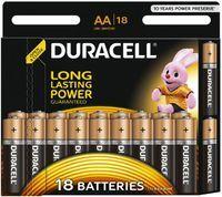 Батарейки DURACELL АА/LR6-18BL BASIC