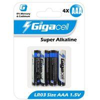 Батарейки Gigacell LR03-4 (4 шт.)