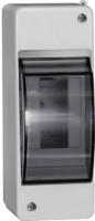 Щит распределительный навесной ЩРн-П-2 IP30 пластиковый белый прозрачная дверь КМПн 2/2 (MKP42-N-02-30-20)