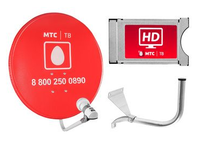 Спутниковое телевидение МТС ТВ №193 на 1 телевизор с CAM-модулем (подписка 1 месяц)
