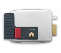 CISA 11931.60.1 замок электромеханический накладной цилиндровый для правой двери, открывание внутрь
