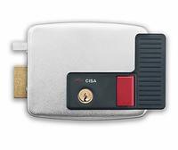 CISA 11931.60.2 замок электромеханический накладной цилиндровый для левой двери открывание внутрь