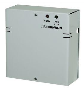 ИВЭПР-1260 Источник вторичного электропитания резервированный. Металический корпус, регулировка выходного напряжения от 11B до 14В, Iном=6А, Iмакс.6,5 АКБ 7А*ч.