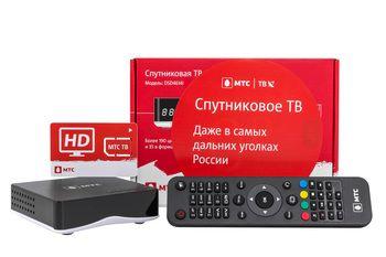 Спутниковое телевидение МТС ТВ №185 на 1 телевизор с ресивером EKT DCD 4614