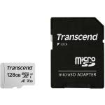 Карта памяти TS128GUSD300S-A Transcend 128GB microSDXC Class 10 с SD адаптером