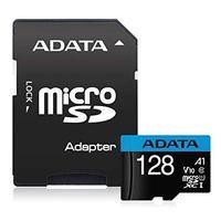 Карта памяти ADATA AUSDX128GUICL10A1-RA1 Micro SDXC 128Гб