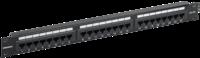 PP24-1UC5EU-K05-G патч-панель 1U кат.5E UTP 24 порта (Krone) GENERICA
