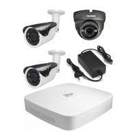 Комплект видеонаблюдения Dahua XVR5104C-S2 / 2 камеры FE-IBV1080MHD/40M / 1 камера FE-IDV1080AHD/35M