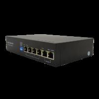 ST-S46POE(2M/60W/А) PRO Switch POE 4-х портовый