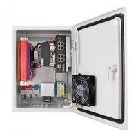 OS-34TB1(SW-8091/IC) уличная станция с термостабилизацией, резервным питанием и коммутатором SW-8091/IC