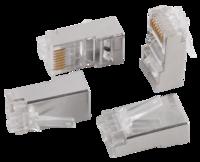 CS3-1C5EF ITK Разъём FTP RJ-45 экранированный для кабеля категории 5е, 8P8C