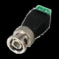 BNC-клемма разъем BNC для видеонаблюдения, с одной стороны BNC - разъем - с другой клеммы 2 шт.