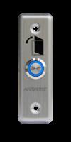 AT-H801А LED кнопка выхода металлическая врезная c LED подсветкой