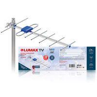 Антенна LUMAX DA2213А, уличная, активная, усиление до 25 дБ, DVB-T, DVB-T2, цифровая