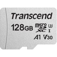 Карта памяти TS128GUSD300S Transcend 128GB microSDXC Class 10 UHS-I U3 без SD адаптера