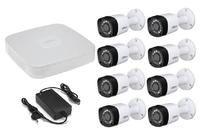 Комплект видеонаблюдения Dahua DH-XVR5108C-X / 8 камер Dahua DH-HAC-HFW1000RP-0280B-S3