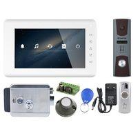 Комплект видеодомофона Tantos Mia HD / Zorg HD / электромеханический замок Atis Lock SSM CK