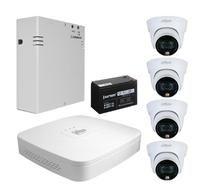 Комплект видеонаблюдения Dahua DH-XVR5104C-X1 / 4 камеры DH-HAC-HDW1239TLP-LED-0280B