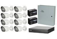 Комплект видеонаблюдения EZ-IP EZ-XVR1B08H / 8 камер Dahua DH-HAC-HFW1200TP-0360B
