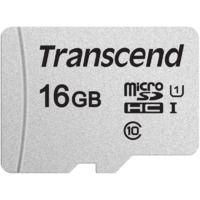 Карта памяти TRANSCEND TS16GUSD300S microSDHC 16 ГБ