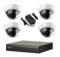 Комплект видеонаблюдения EZ-IP EZ-XVR1B04H / 4 камеры EZ-HAC-D1A21P-0280B