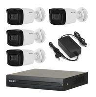 Комплект видеонаблюдения EZ-IP EZ-XVR1B04H / 4 камеры EZ-HAC-B5B20P-A-0360B