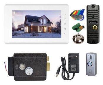 Комплект видеодомофона Tantos Mia HD / Corban HD / электромеханический замок Atis Lock G