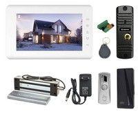 Комплект видеодомофона Tantos Mia HD / Corban HD / электромагнитный замок Falcon Eye FE-L500W
