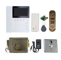 Комплект видеодомофона Tantos Elly / Stich / электромеханический замок Atis Lock SSM