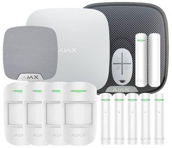 Охранная сигнализация Ajax для дома: 1 этаж (100 м2)