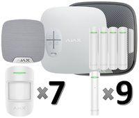 Охранная сигнализация Ajax для дома: 1 этаж (90 м2)