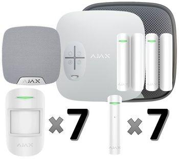 Охранная сигнализация Ajax для дома: 1 этаж (110 м2)