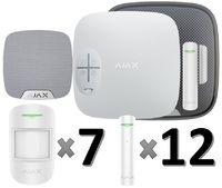 Охранная сигнализация Ajax для дома: 1 этаж (80 м2)