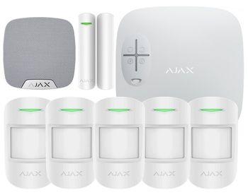 Охранная сигнализация Ajax для 4-комнатной квартиры