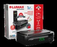 Эфирный цифровой ресивер Lumax DV-2106HD, пластиковый корпус, 1080P