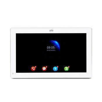 AD-1070FHD White цветной домофон с FHD IPS сенсорным экраном 10 дюймов