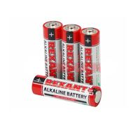"""Алкалиновая батарейка AAA/ААА/LR03 """"REXANT"""" 1.5V 1200mAh (1 шт.)"""