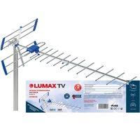 Антенна LUMAX DA2507А, уличная, активная, усиление до 28 дБ, DVB-T, DVB-T2, цифровая