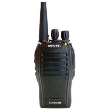 Радиостанция RIXOTEL R-11 JUNIOR, 400-512, АКБ-Li-ion 1500 mAh, з/у, антенна, клипса, кистевой ремешок.