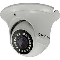 """Тантос TSi-Ee25FP (2.8). IP видеокамера уличная антивандальная с ИК подсветкой, двухмегапиксельная, 1920х1080, 30к/с, 1/2.9"""" SONY EXMOR сенсор c прогрессивным сканированием"""