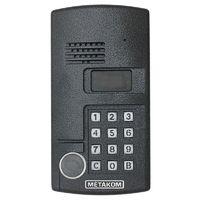 МК2003.2-RFEV. Блок вызова видеодомофона МЕТАКОМ МК2003.2-RFEV предназначен для установки в многоквартирных домах, офисах, а также для организации системы селекторной связи с числом абонентов до 999